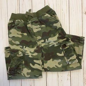 Toddler Boys Camo Cargo Pants - 3T